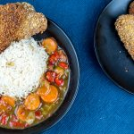 Japanese Curry with Fried Seitan